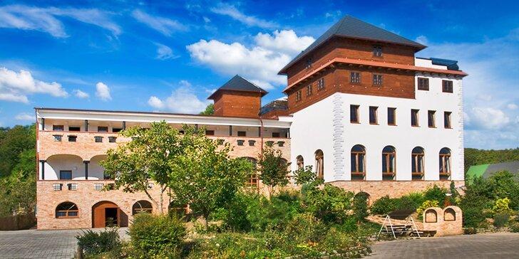 Vinařský pobyt na jižní Moravě se super wellness a gastronomií – až do srpna