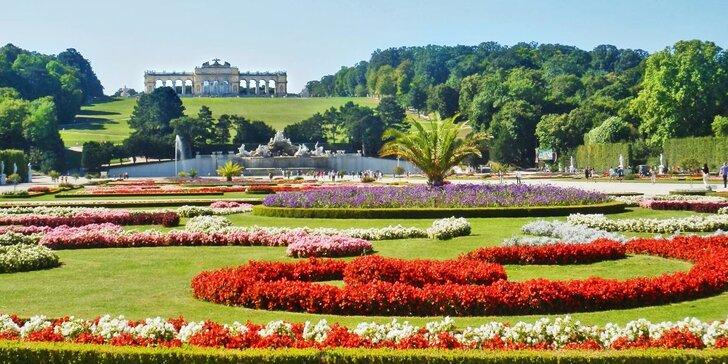 Likérka a barokní zahrady Vídně - Schönbrunn a Belvedér z Brna a Mikulova