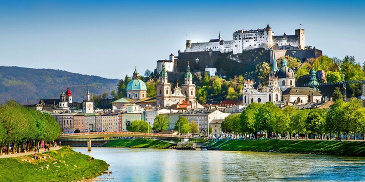Třetí pohádkový zámek šíleného krále - Herrenchiemsee a prohlídka Salzburgu
