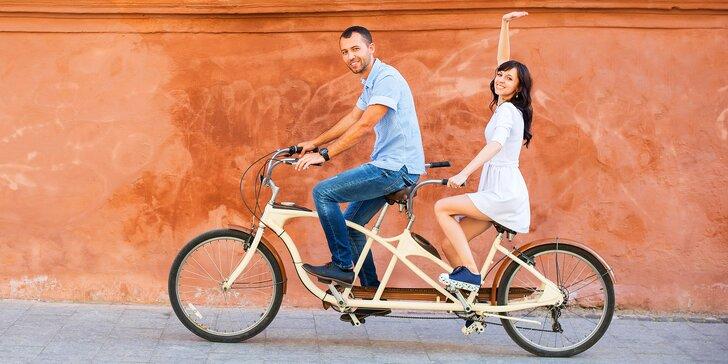 Ve dvou se to lépe táhne: půjčení tandemového kola na den