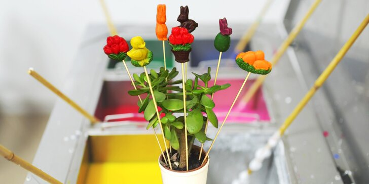Velikonoční vlastnoruční zdobení svíček nebo ozdob pro děti i dospělé