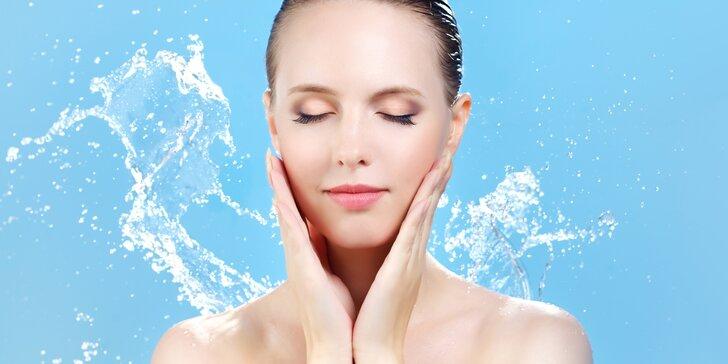 Hydratační ošetření pleti s možností ultrazvukového čištění