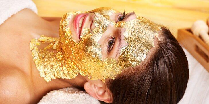 Rozzařte svou pleť exkluzivním liftingovým ošetřením pravým zlatem