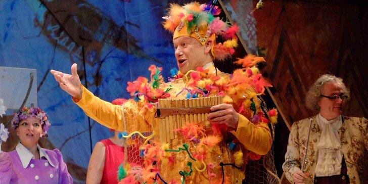 """Vstupenka na divadelní představení """"Sežeňte Mozarta!"""""""