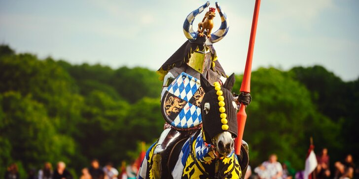 2 dny jako ve středověku: Historický rytířský festival Rotenstein v Holíči