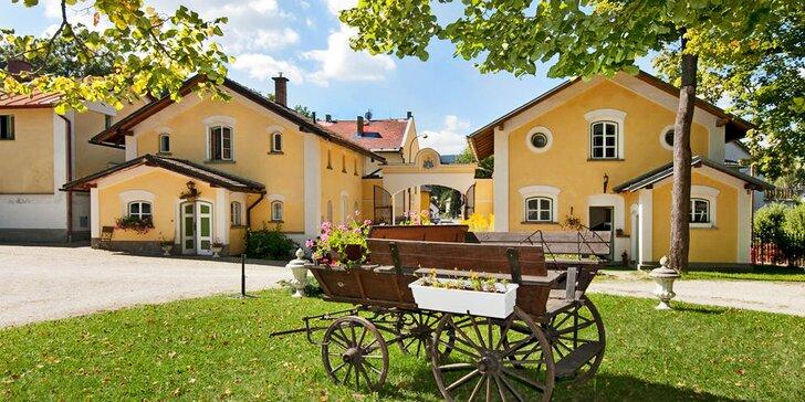 Jarní očistný pobyt: 3 dny plné zdravého hýčkání na zámku v jižních Čechách