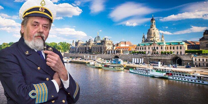 Romantická plavba lodí z Děčína do Drážďan s programem a polopenzí