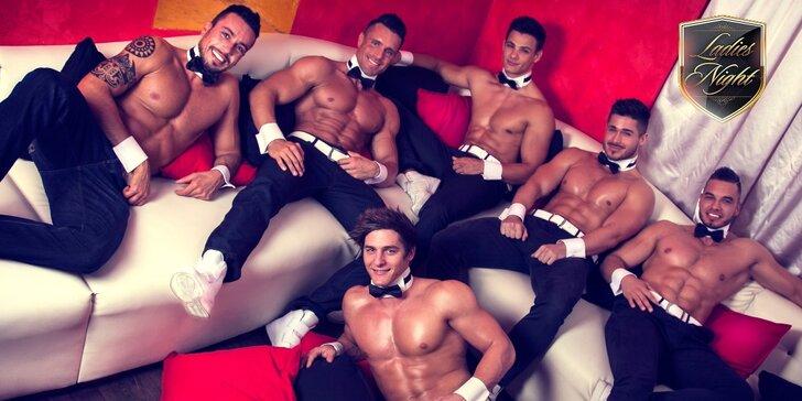 Vstupenka na Ladies night - Striptýzové vystoupení Dream men show