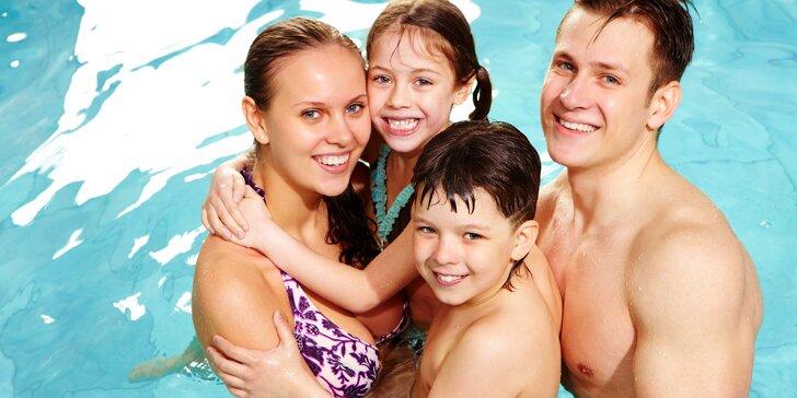 Vodní radovánky v aquaparku Kravaře: vstup pro 2 dospělé nebo celou rodinu