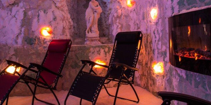 Zdravý relax v solné jeskyni - jeden vstup nebo permanentka