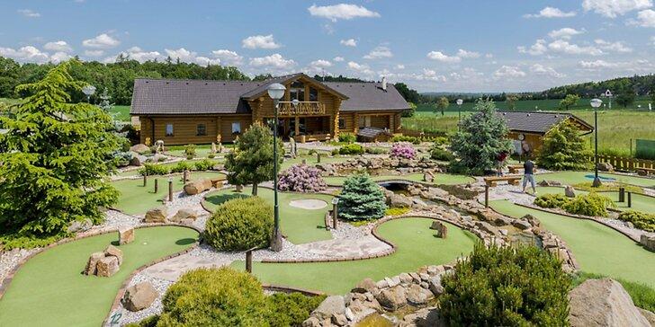 Akční zábava: Adventure golf v Horním Bezděkově pro hráče každého věku