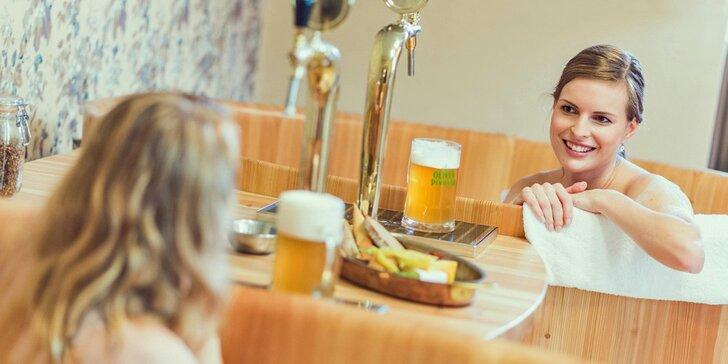 Romantický 2-3denní pobyt s pivní lázní a degustací v rodinném pivovaru
