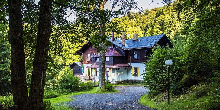 Rodinný pobyt v ryzí přírodě Jizerských hor s výhledem na Ještěd