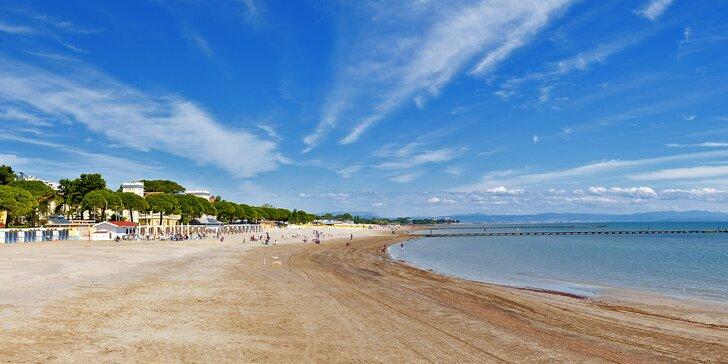 Letovisko Grado: Prožijte den na písčité pláži a koupáním v průzračném Jadranu