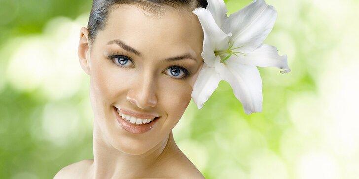 90minutový kosmetický relax včetně masáže i zábalu zad