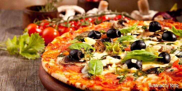 Jde se na pizzu: dvě pizzy v luxusní restauraci La Piazza v centru Liberce
