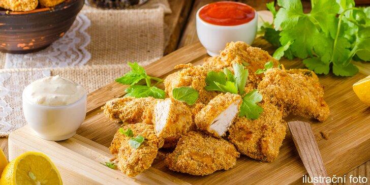 U Jošta mají jedlíci pré: Kilo kuřecích a vepřových řízečků pro 2 až 3 osoby