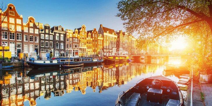 Amsterdam na 1 noc: prohlídka města, výlet za větrnými mlýny i návštěva delfinária