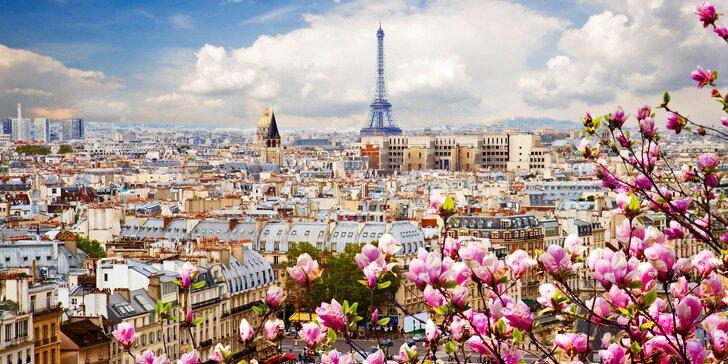 Hurá do Paříže: Notre Dame, Louvre, Eiffelova věž s ubytováním na 1 noc a snídaní