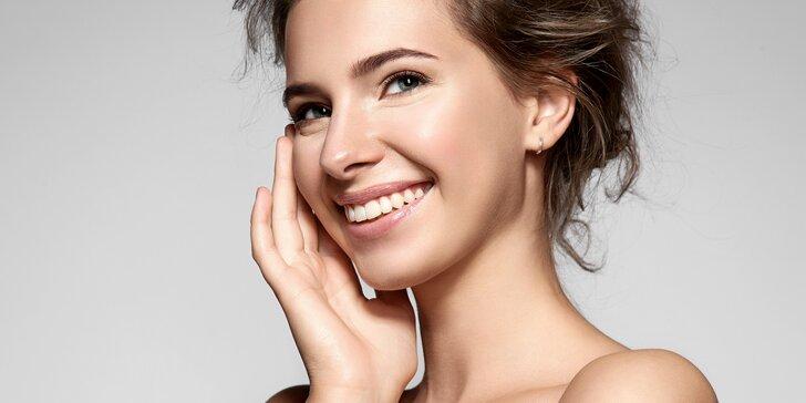90minutové kosmetické ošetření s kolagenem