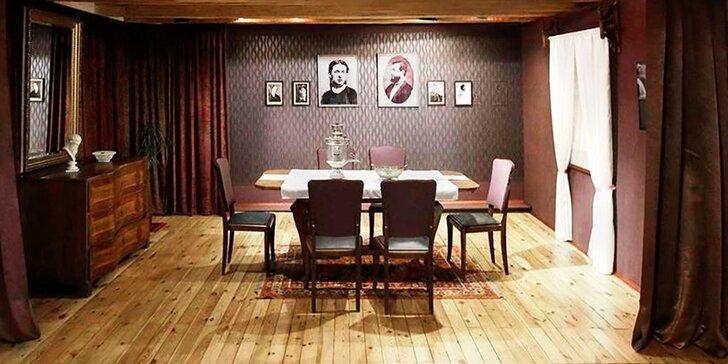 Vstupné do Muzea T. G. Masaryka v Lánech a káva zdarma