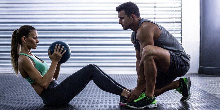Balíčky osobních tréninků v privátním fitness studiu - 1, 5 nebo 10 vstupů