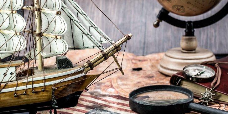 Na lodi Kryštofa Kolumba: Špionážní únikovka pro 2-5 hráčů