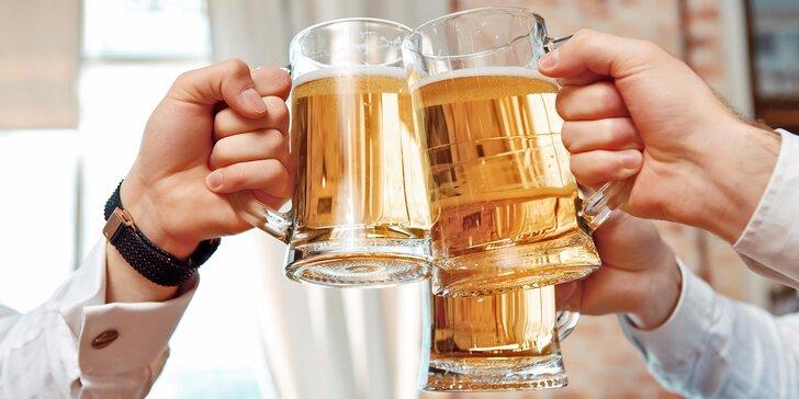 Malý točený Budvar 10°: Poseďte s přáteli u dobrého piva