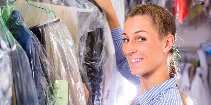 Poukaz v hodnotě 120 nebo 200 Kč na služby profesionální čistírny