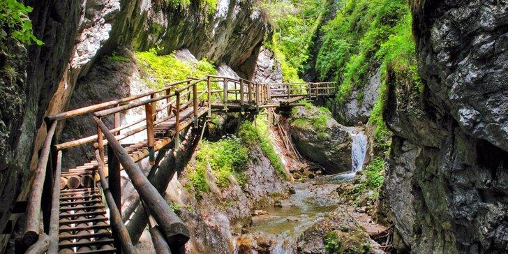 Poznávací výlet do kaňonu Medvědí soutěska v Rakousku