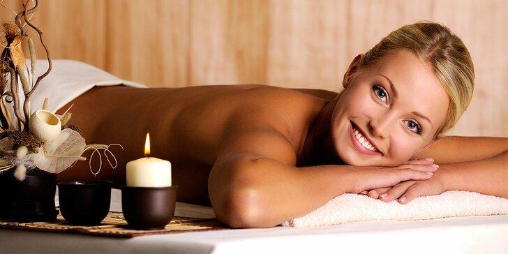 Regenerační masáž zad a šíje v délce 60 minut