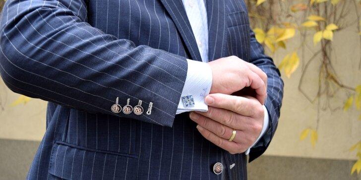 Manžetové knoflíčky pro pravého gentlemana