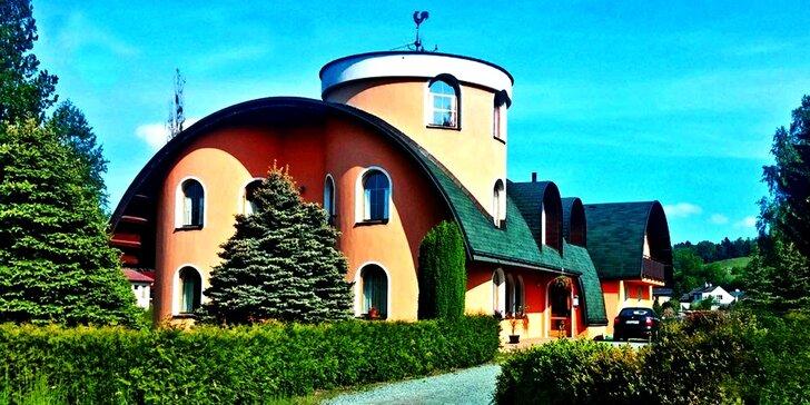 Třídenní pobyt pro dva nedaleko Adršpachu s polopenzí a možností relaxace