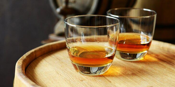 Degustace špičkových rumů ve stylovém podniku