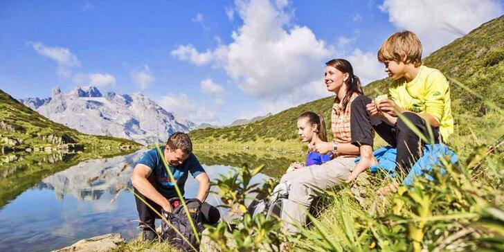 Prázdniny s polopenzí na horách: Rakousko pro 2 s možností programu