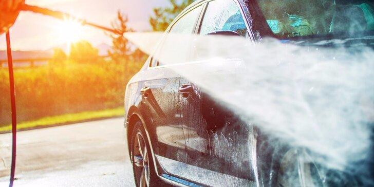 Zkrášlovací programy pro váš vůz: Ruční mytí a čištění dle vašeho výběru