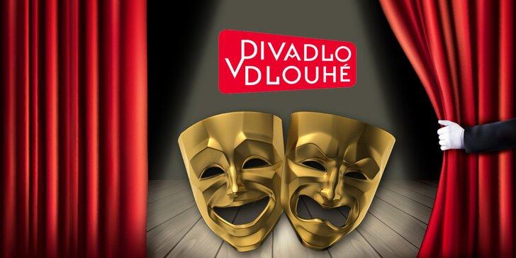 Sami nebo ve dvou do Divadla v Dlouhé - 40% sleva na představení dle výběru