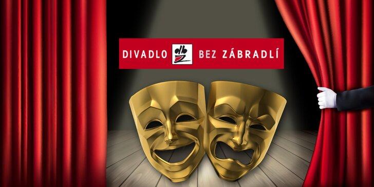 40% sleva na vybraná představení v Divadle Bez zábradlí