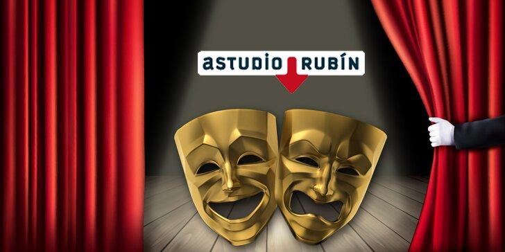 Velké zážitky na Malé Straně: 30% sleva na vybrané představení A studia Rubín