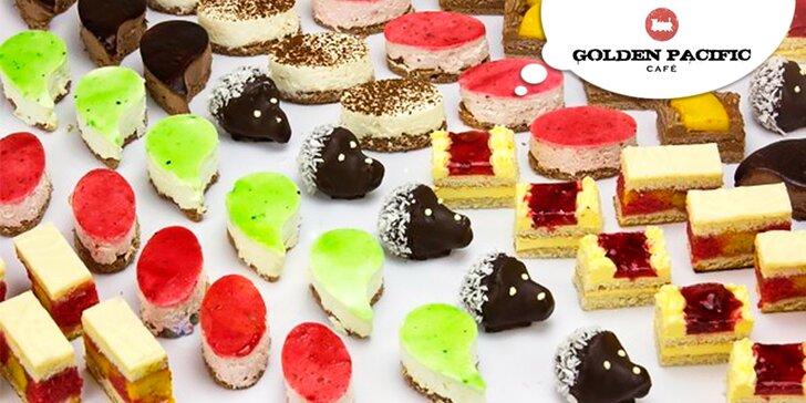 Láska na první sousto - 24, 48 či 96 minidezertů z kavárny Golden Pacific