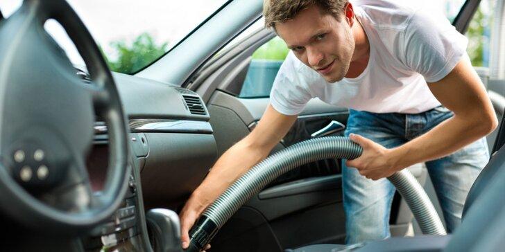 Péče o standardní i velké vozy: ruční mytí a čištění i příprava na prodej