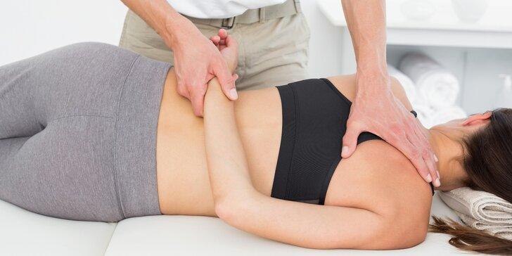 Uleví svalům i duši: Sportovní nebo rekondiční masáž v délce 60 minut