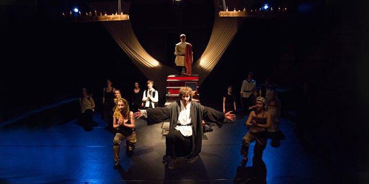 Vstupenka na divadelní představení Závišův kříž
