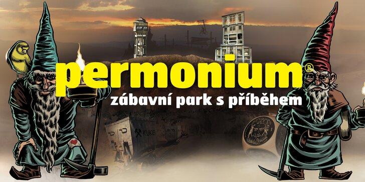 Po stopách permoníků: vstupy do zábavního parku Permonium®