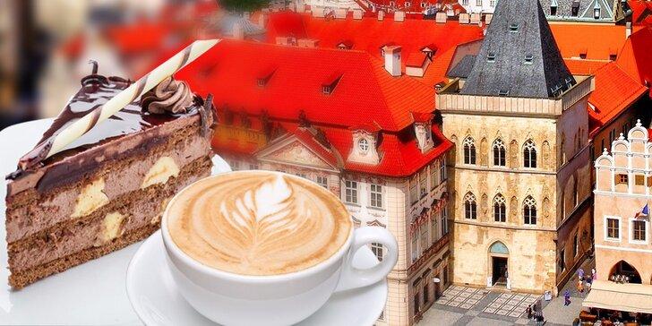 2x dezert s nápojem dle výběru v kavárně U Zvonu na Staromáku