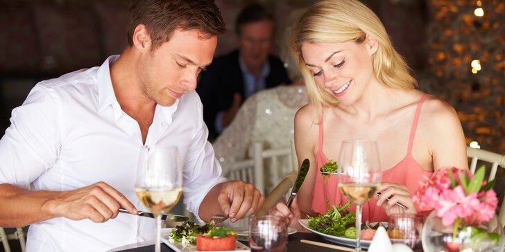 Wellness a 4chodové degustační menu pro 2 osoby na Rohan Boat Prague