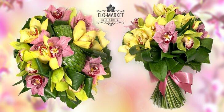 Kytice pro femme fatale: 11, 17 nebo 24 svěžích orchidejí ve 3 různých barvách