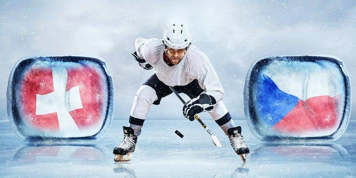 Autobusový zájezd na Mistrovství světa v hokeji: Česko vs. Švýcarsko vč. vstupenky