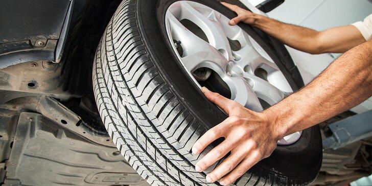 Přezujte na letní pneumatiky všech velikostí v Automyčce Mercury