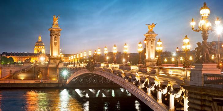 Ryzí romantika pro dva: 2–3 noci v hotelu Paris Neuilly**** v centru Paříže